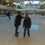 First Time Ice Skating 1.1.15
